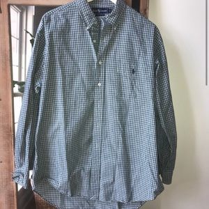 Polo by Ralph Lauren Green Plaid Button Down